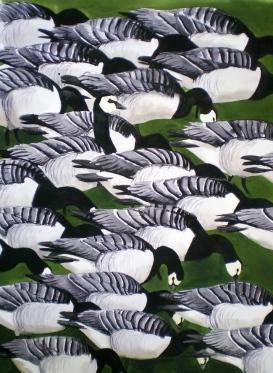 Barnacle Geese (sold)