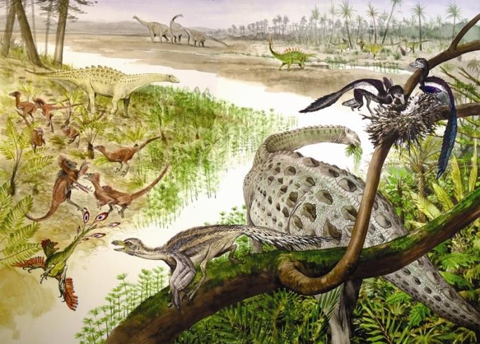 Dinosaurs of Bornholm