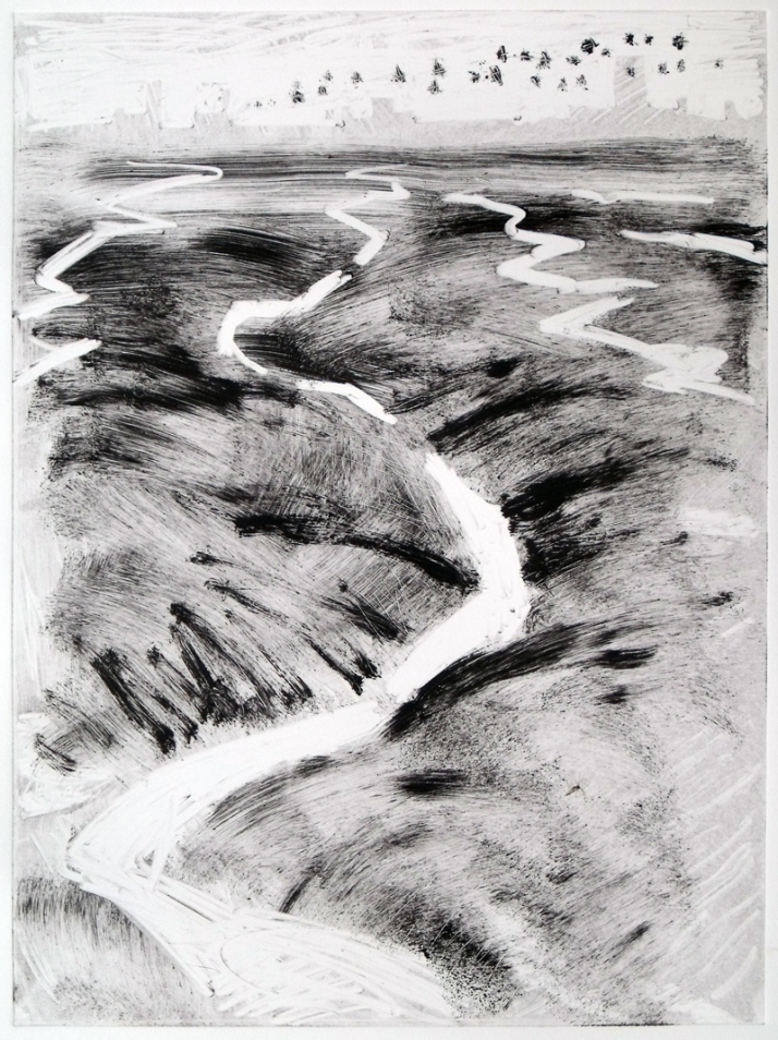 Mud, Wallasea (monotype)