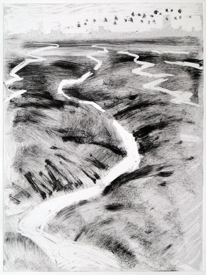 Mud, Wallasea (monotype)