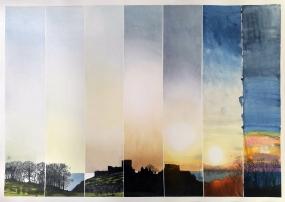 Sunset, Hammerhus (sold)