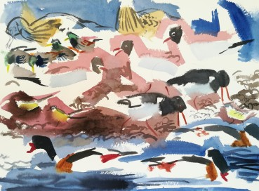 Feeding frenzy, Salthammer (sold)