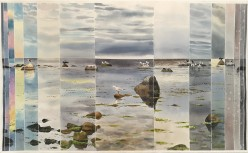 Sky, Sea and Birds Through the Day, Peder Olsens Harbour, Bornholm (sold)