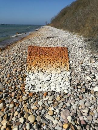 Iron Oxide Pebble Square